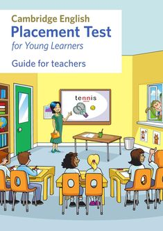 Ce 2810 p cambridge english placement test for young learners teachers guide w English Books For Kids, English Learning Books, Teaching English, English Class, English Lessons, Learn English, Cambridge Test, Cambridge English, Test Exam