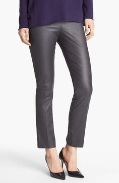 Vince Crop Bootcut Leather Pants available at #Nordstrom