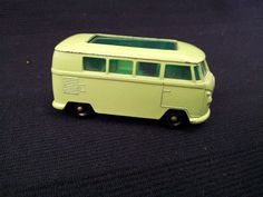 MATCHBOX LESNEY NO.34 VW CARAVETTE, WITH FINE TREAD BPW