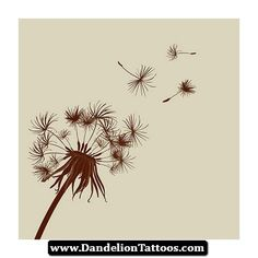 Dandelion Tattoos Ideas 04 - http://dandeliontattoos.com/dandelion-tattoos-ideas-04/