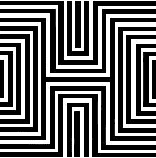 What do you see? rectangles or diamonds?