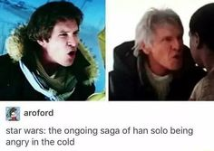 Typical Han Solo
