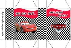 Disney Cars Party, Disney Pixar Cars, Cars Birthday Parties, Diy Box, Diy Party, Party Ideas, Paper Toys, Favor Boxes, Free Printables