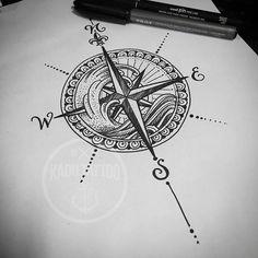Sera que eu precisarei de mais quantos anos de Tattoo pra entender e acostumar com clientes que simplesmente não vem ?! Pois 20 anos ainda não deu rsrs!!! . Desenho criado p tatuar , e agora sem dono rsrsrs , disponível agora pra quem curti rosa dos ventos e o mar !!!! Procure Bruno e se informe sobre a disponibilidade e dia para tatuar !!!! Tel de contato 27 99980 5879 !!!! . #kadutattoo #drawing #draw #sketch #rosadosventos #onda #mar #direction #tattoo #tattoosketch #JustTattoos