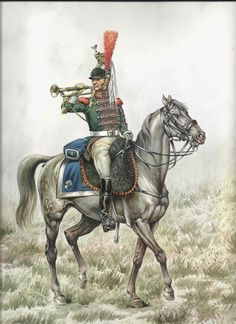 French; Cuirassier 4th Regt, Trumpeter c.1813