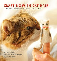craftin with cat hair-wtf?