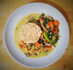 Austernpilz-Curry mit Basmatireis