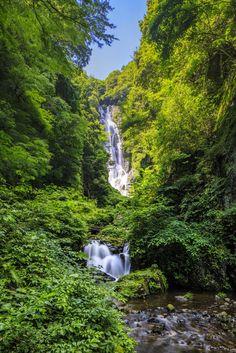 真庭市 神庭の滝