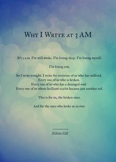 Beautiful. Describes perfectly how I used to feel when I couldn't sleep at night. #Zzzz