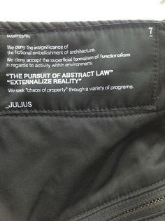 Risultati immagini per clothing labels julius7