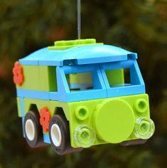 Lego Friends Storage, Lego Christmas Ornaments, Lego Scooby Doo, Lego Truck, Amazing Lego Creations, Lego Man, Lego Modular, Lego Room, Lego Worlds