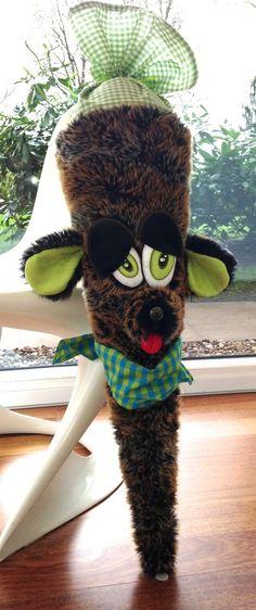 """Schultüten - RESERVIERT Schultüte Zuckertüte """"Stöckchen... - ein Designerstück von frech-und-frei-by-lala bei DaWanda"""