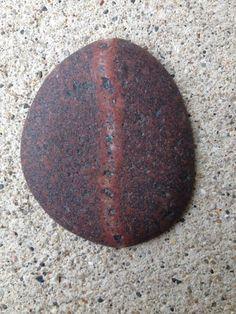 beach stone granite unpolished cabochon found stone by Jubilee