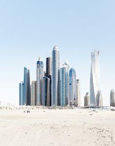 Marina Beach, Dubai the tallest block in the world.