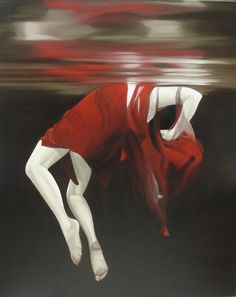 Rapture - oil on canvas by Brian Wyers