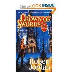 Eye of the World series by Robert Jordan. Worth reading.