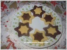 Takarékos konyha: Csillag keksz /tej és tojás nélkül Tej, Cake, Desserts, Food, Tailgate Desserts, Deserts, Kuchen, Essen, Postres