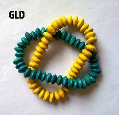 gelang bulat dua warna