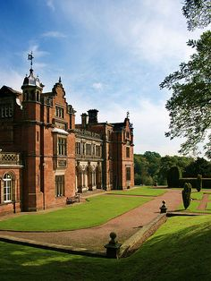 Keele Hall the manor house of my ancestors.  Located on the grounds of Keele University, Staffordshire, UK.
