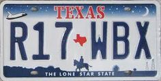 Texas: don't you just miss the old license plates? :(