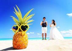 ハワイやビーチがテーマの結婚式で用意したいアイテム総集編