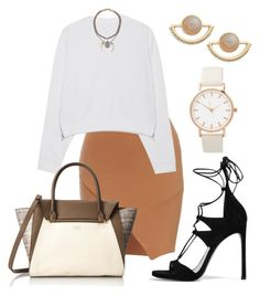 """""""Untitled #4816"""" by dede ❤ liked on Polyvore featuring Acne Studios, Stuart Weitzman, Vince Camuto and T+C by Theodora & Callum"""