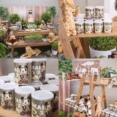 FESTA MICKEY SAFARI  Linda festa. O destaque foi para a novidade das maravilhosas Pipocas Gourmet Personalizadas da @popcorn_plus, compondo a decoração dando um charme, sofisticação e sabor delicioso à essa encantadora festa.  Faça já sua encomenda, entre em contato conosco: PipocasGourmet@Outlook.com - Flávia (Tel.: 11-9-9297-5704). #pipocasparafestas #popcornplus #pipocasdoces #pipocasgourmet #pipocagourmet #lembrancinhas #pipocas #festas #doce #lembracinhas