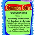 You will find that this document will be a huge help to you.  This document contains 67 pages that cover ALL TEN Common Core Grade Five Reading Inf...