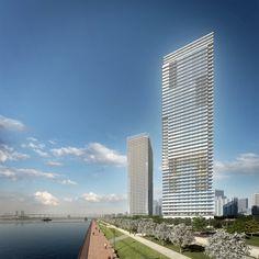 Harumi Residential Tower  / Richard Meier & Partners Architects