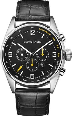 Georg Jensen Watch Delta Classic Chronograph Limited Edition #basel-15…