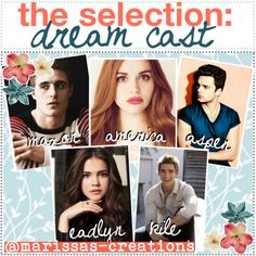the selection: dream cast - Polyvore