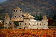 Castillo en Italia.