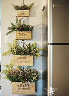 From creating a home command center to making the space feel larger with a mirror, check out these kitchen wall decor ideas we've put together Planting Bulbs In Spring, Spring Bulbs, Modern Canvas Art, Modern Wall Art, Planting Vegetables, Growing Vegetables, Garden Solutions, Garden Journal, Herbs Indoors