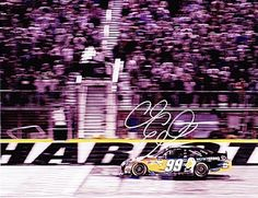 AUTOGRAPHED 2011 Carl Edwards #99 Aflac CHARLOTTE ALL-STAR WINNER 8x10 Photo by Trackside Autographs. $49.95. For your viewing pleasure: *AUTOGRAPHED* 2011 Carl Edwards #99 Aflac CHARLOTTE ALL-STAR WINNER 8x10 Photo. This beautiful, glossy NASCAR picture has been Hand-Signed by Carl through a well-respected member of Global Authentication. You will receive a Certificate of Authenticity (COA) with your purchase, and we also offer a 100% life-time guarantee regarding authen...