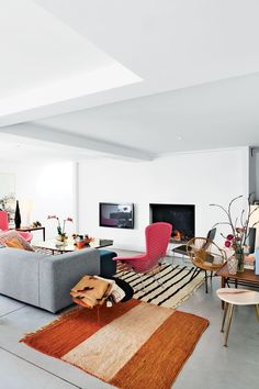 Modern Belgian living room