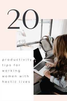 20 Productivity Tips for Working Women with Hectic Lives Productive Day, Working Woman, Get Over It, Productivity, Blogging, About Me Blog, How To Get, Board, Tips