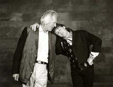 LOVE LOVE LOVE — misanthrope1993: George Martin and Paul McCartney