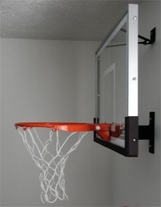 Basketball Hoop Board Mini Plastic Hoop Set with a Basketball Indoor Hanging Hoop. basketball board hung on the door, basketball and pump included, ready for use! Basketball Hoop In Bedroom, Boys Basketball Room, Indoor Basketball Hoop, Portable Basketball Hoop, Basketball Tricks, Basketball Bracket, Basketball Court, Basketball Goals, Luz Led