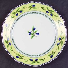 Wedgwood Tuscan Harvest Canape Plate