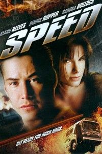 SPEED. Love love this movie. Very old but very good.