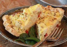 Gluten Free Country Quiche Lorraine #recipe #breakfast #brunch #quiche…