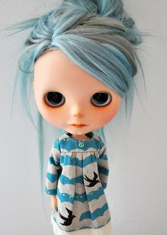 how can i do this to my lps petite blythes and get that hair color