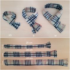 Dog Scarf Plaid Fleece Cat Scarf Pet Neckwear by PinkBau on Etsy