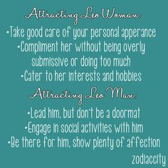 best sign for leo woman