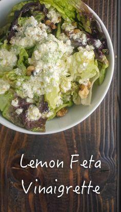 Lemon Feta Vinaigrette-poster