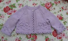 Love the detailed edging much nicer than a plain rib. Baby Cardigan, Pullover, Sweaters, Fashion, Jackets, Moda, Fashion Styles, Sweater, Fashion Illustrations
