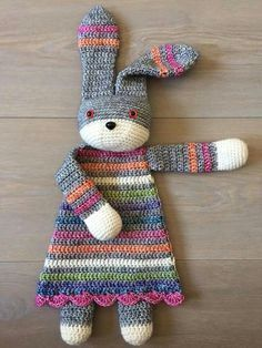 ♡ So lovely ♡ Lappenpop -  pattern on Ravelry: Bunny Ragdoll pattern by A la Sascha