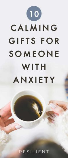 If you have a loved one with anxiety, besides actually being there, here are 10 gifts for people with anxiety (or anxiety gifts for yourself) or helpful products for anxiety. How To Calm Anxiety, Anxiety Tips, Calming Anxiety, Anxiety Relief, Stress Relief, Stress Free, Essential Oils For Depression, Dealing With Depression, Fighting Depression