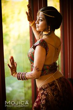 Kansas Indian Sangeet with Gold Bridal Jewelry - 1 - Indian Wedding Site Home - Indian Wedding Site - Indian Wedding Vendors, Clothes, Invitations, and Pictures.