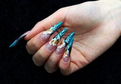 Great Acrylic Nail Designs. This is sooo you!